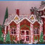 Brooklyn-New-York-Christmas-Gingerbread-split-level-home