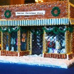 Georgetown-Washington-DC-Music-store-Christmas-Gingerbread Store