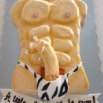 Sharp-curved-pecker-on-abs-pecks-sexy-man-torso-cake