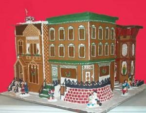 Michigan-Detroit-Lansing-corprate-gingerbread-custom-shopping-plaza