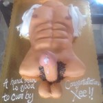 Miami-Florida-tanning-in-the-sun-sexy-he-man-erotic-cake