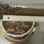 Nine inch long John Henry erotic Boner cake