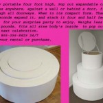 Expandable-round--pop-out-cake
