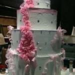 Atlanta-Georgia-four-tier-pink-ribbon-pop-out-cake-23
