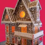 Chicago-Illinois-frosted-roof-fancy-two-story-Christmas-gingerbread-house